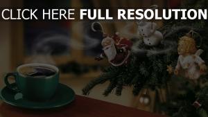 tasse café jouet noël