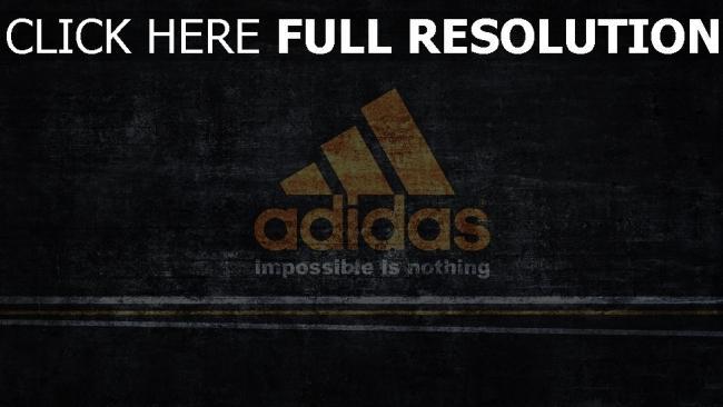 fond d'écran hd adidas logo graffiti