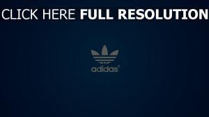 adidas bleu logo arrière-plan