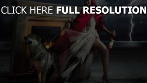 campari foudre petit chaperon rouge jolie loup