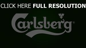 carlsberg logo vert arrière-plan