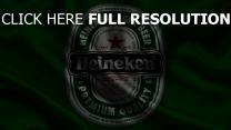 heineken logo vert drapeau