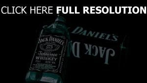 jack daniels bouteille whisky