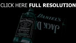 jack daniels bouteille whisky