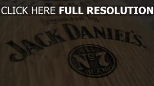 jack daniels bouteille whisky boîte bois