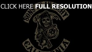 sons of anarchy graffiti logo