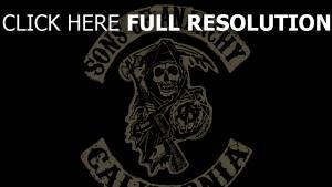 sons of anarchy graffiti logo