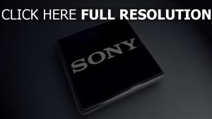 sony processeur surface brillante