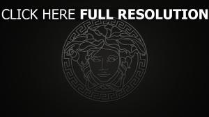versace visage grèce logo