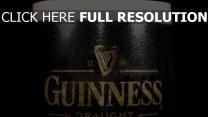 guinness bière verre