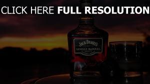 jack daniels soirée verre whisky
