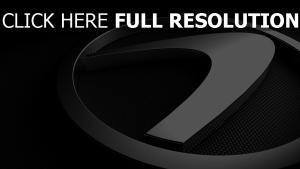 lexus logo chromé