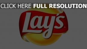 lays chips de pomme, inscription