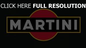 martini inscription foncé arrière-plan