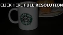 starbucks café tasse