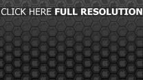 apple arrière-plan hexaèdre