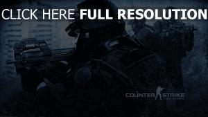 counter-strike forces spéciales mitrailleur