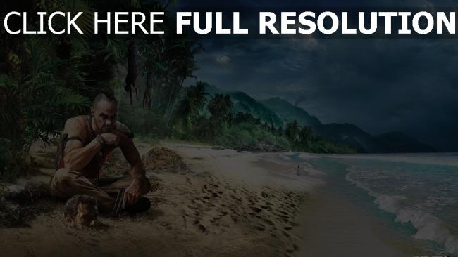 fond d'écran hd far cry 3 plage tropical vaas montenegro