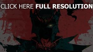 mortred peinture silhouette regard