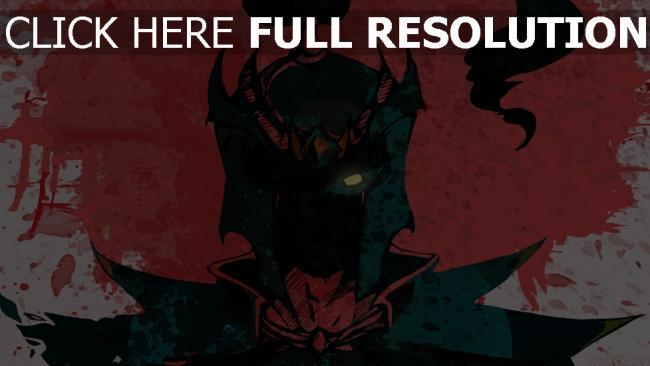 fond d'écran hd mortred peinture silhouette regard