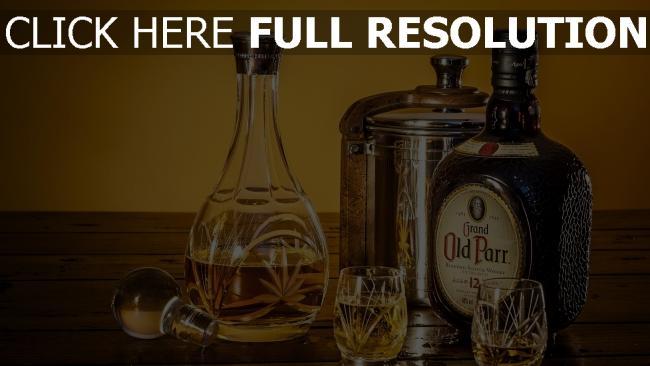 fond d'écran hd whisky bouteille coquetier