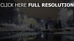 berlin rivière côte hiver