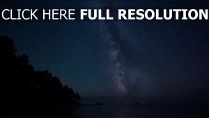 nuit ciel étoile voie lactée
