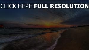 coucher du soleil côte mousse bali