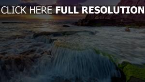rock côte mer Irlande