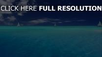 azur océan bateau paradis maldives
