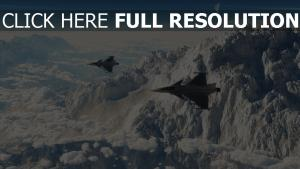 fighter ciel montagne chine