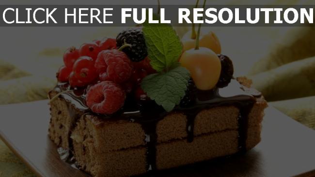 fond d'écran hd gâteau framboise baie délicieux