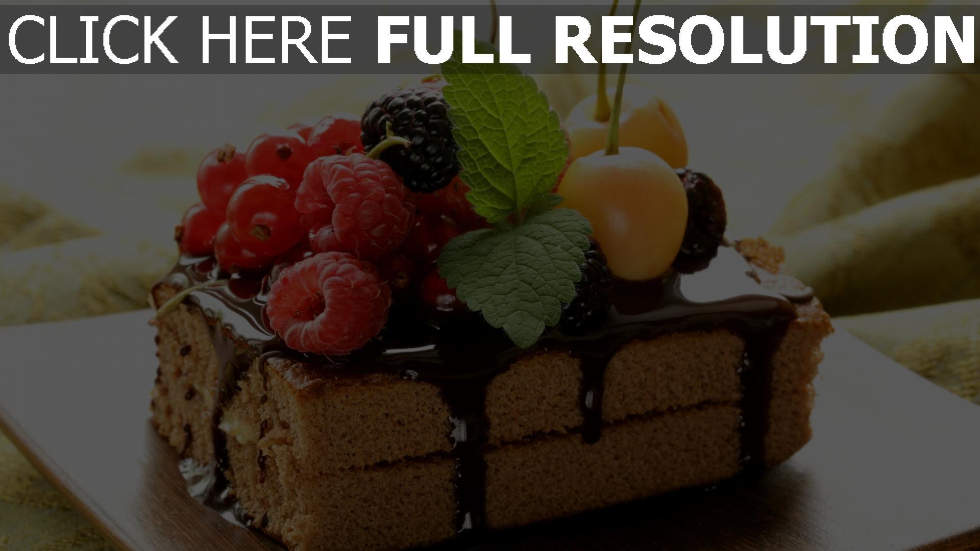 fond d'écran 1920x1080 gâteau framboise baie délicieux