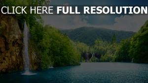 chute d'eau rivière hongrie