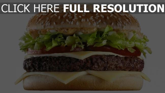 fond d'écran hd burger viande fromage sauce