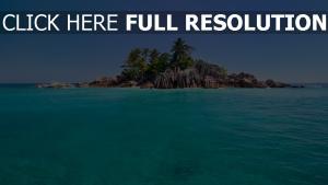 île azur océan paradis