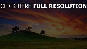 champ ciel merveilleux nuage pays-bas