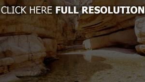 canyon australie galet