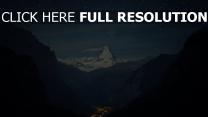 alpes village nuit étoile suisse