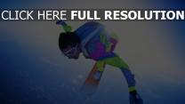 saut en parachute vent multicolore