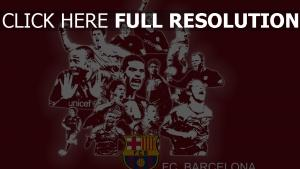 barcelona club de football équipe