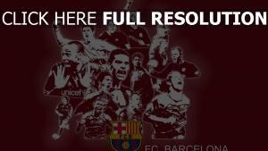 barcelona club de football équipe