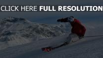 ski montagne athlète autriche