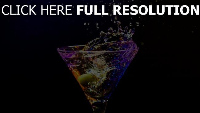 fond d'écran hd cocktail splash éclaboussure
