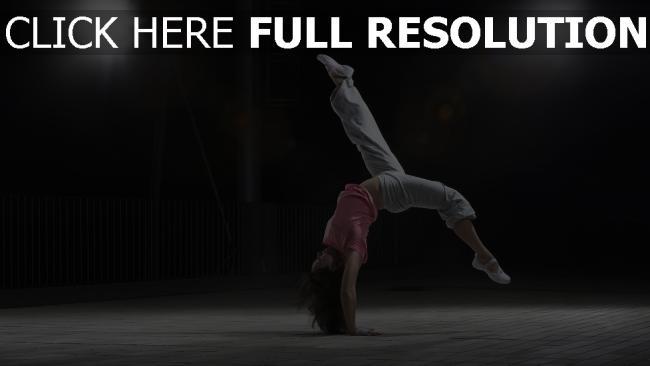 fond d'écran hd gymnastique athlète brunette lumière