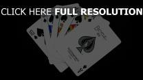 carte à jouer combinaison