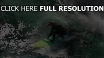 surf vague planche australie