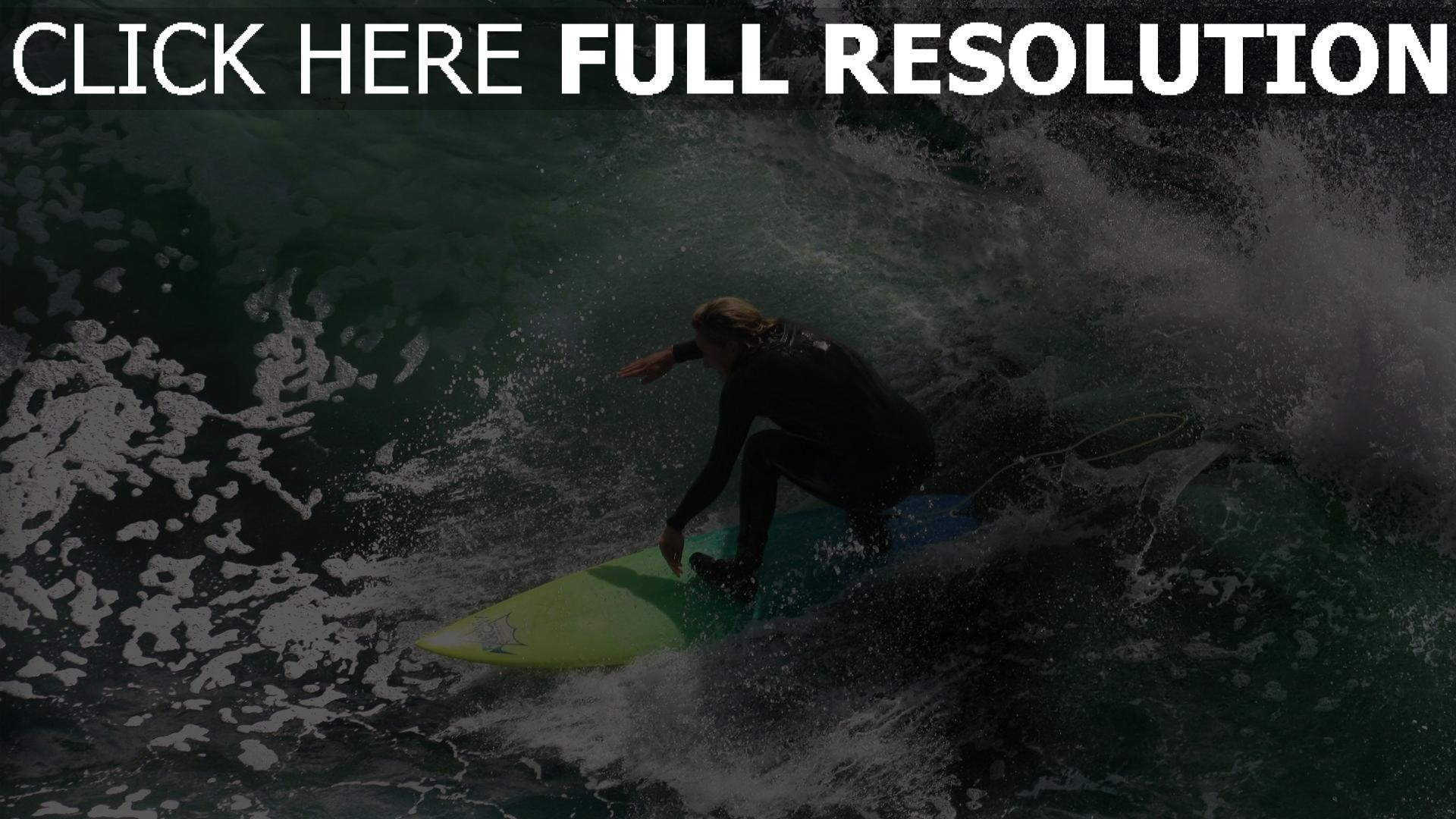 fond d'écran 1920x1080 surf vague planche australie