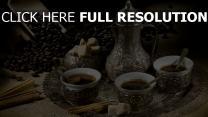 café bouilloire ancien