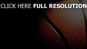 basket-ball balle gros plan